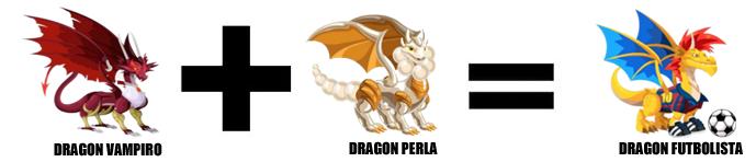 como sacar al dragon futbolista en dragon city combinacion 1