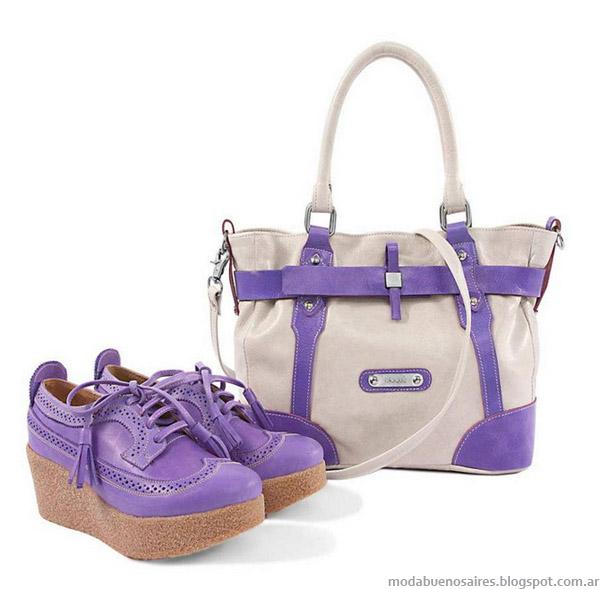 Blaquè primavera verano 2013. Carteras, Zapatos moda 2013.