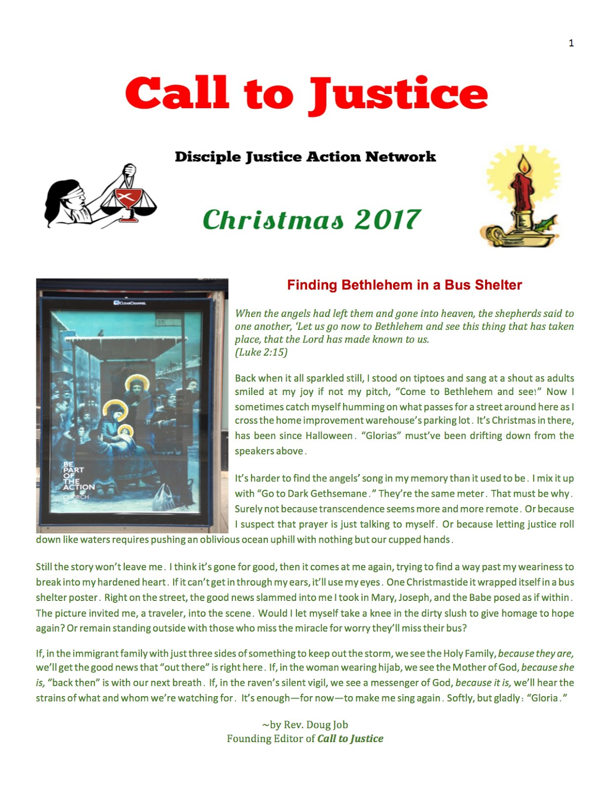 Read About DJAN in 2017:  Christmas Newsletter