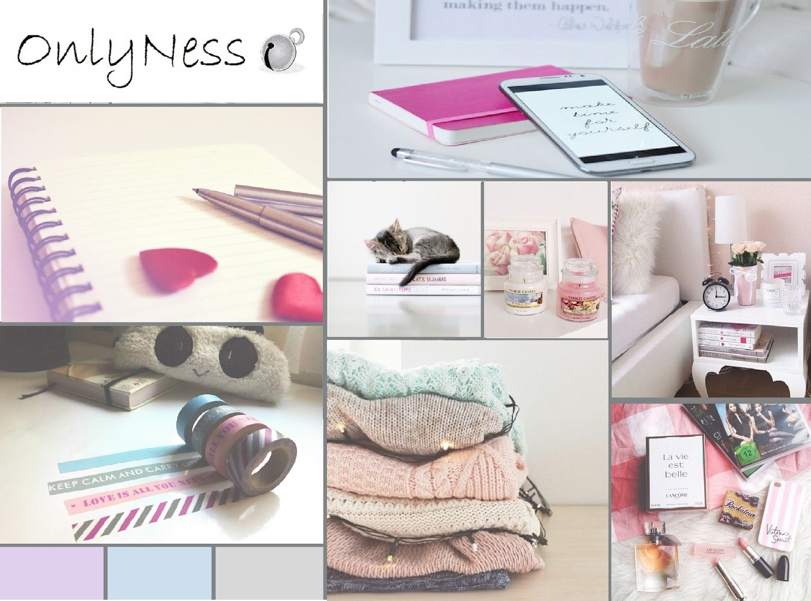 moodboard onlyness colores pastel