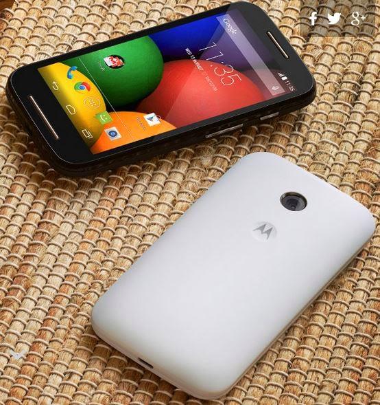 Motorola Moto E dual
