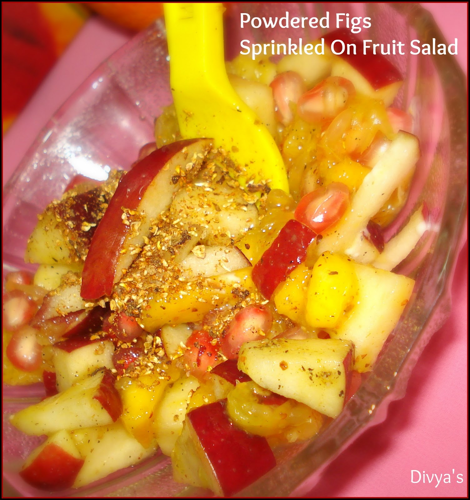 how to cook dried fruit salad
