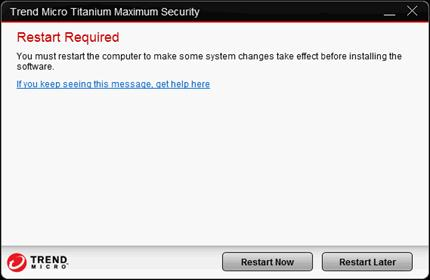 Trend Micro Titanium Maximum Security 2013 – Installation