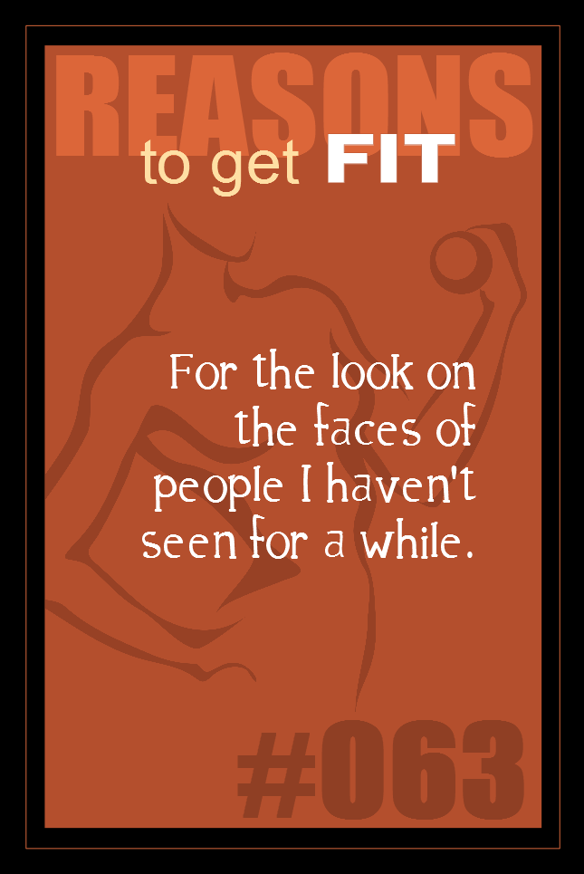 365 Reasons to Get Fit #063
