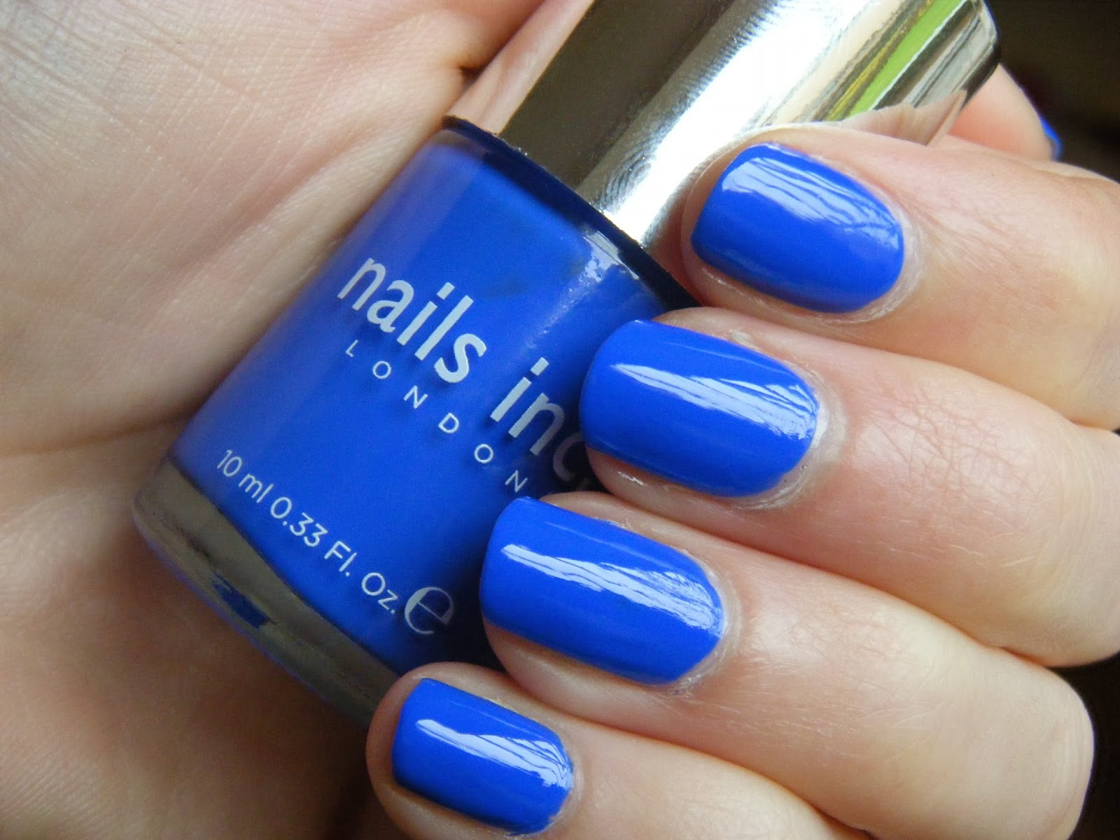 Nails Inc, Busy Girl Nails, Blue
