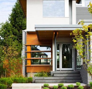 Fachadas de casas plantas de viviendas for Fachadas de viviendas
