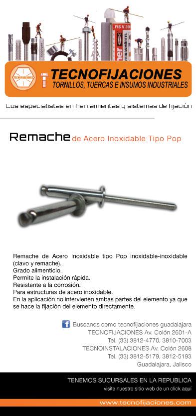 Tecnofijaciones sistemas de fijacion febrero 2012 - Remaches acero inoxidable ...
