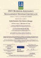 Certificato ISO 9001
