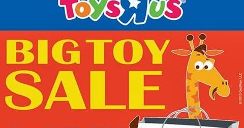 Toys r us sales paper