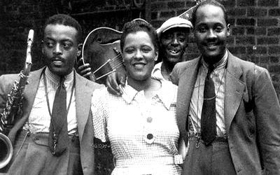 Ben Webster, Billie Holiday, Johnny Russell (1935)