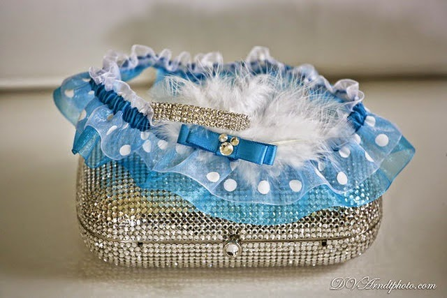 Custom Disney Themed Wedding Garter by Sugarplum Garters