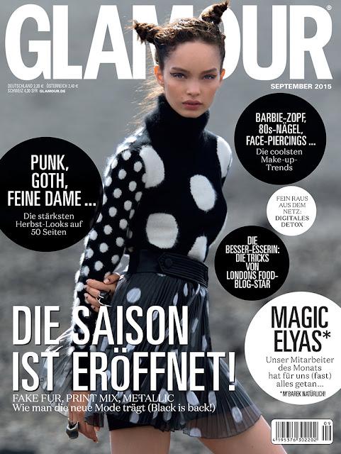 Model @ Luma Grothe by Hans Feurer for Glamour Germany, September 2015