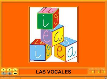LAS VOCALES (JCLIC)