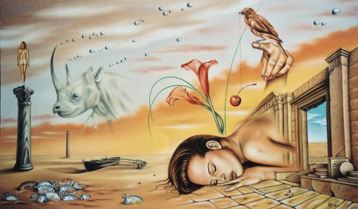 Andrej Gorenkov 1969 | Russian surrealist painter