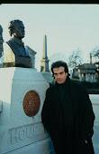 David C. at Houdini's Gravesite.