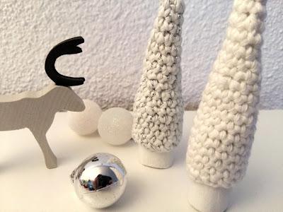 Bouchons noël DIY crochet sapin