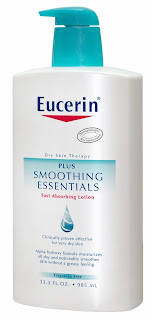 Free sample of Eucerin skin care moisturizer