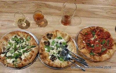 Pinthouse Pizza South Lamar -- pizzas