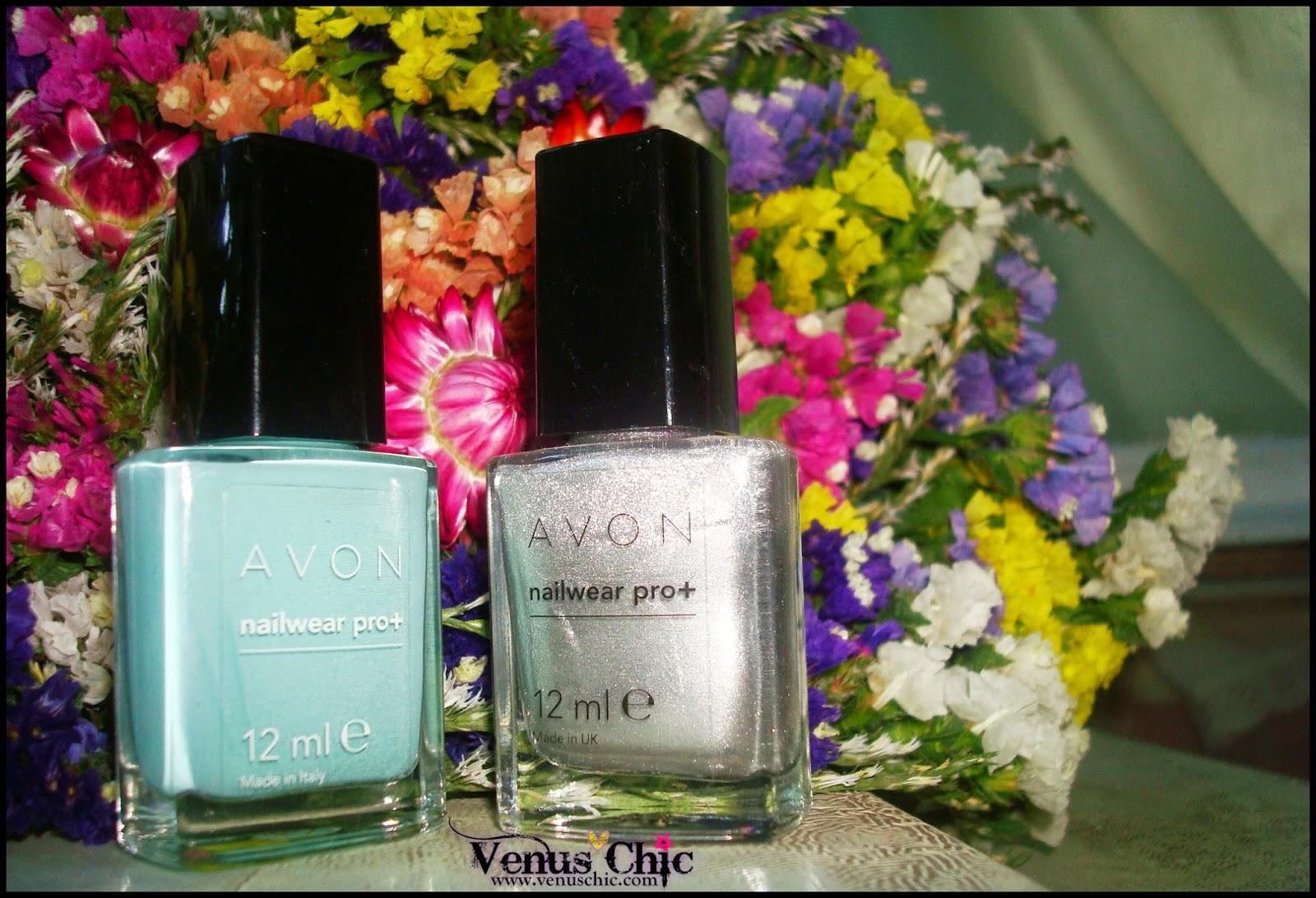 Avon Nailwear pro+ Serene & Starry Sky