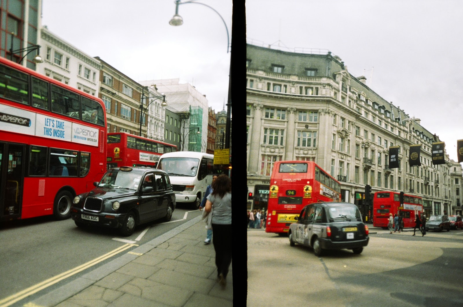 Superheadz Golden Half Camera London Red Bus