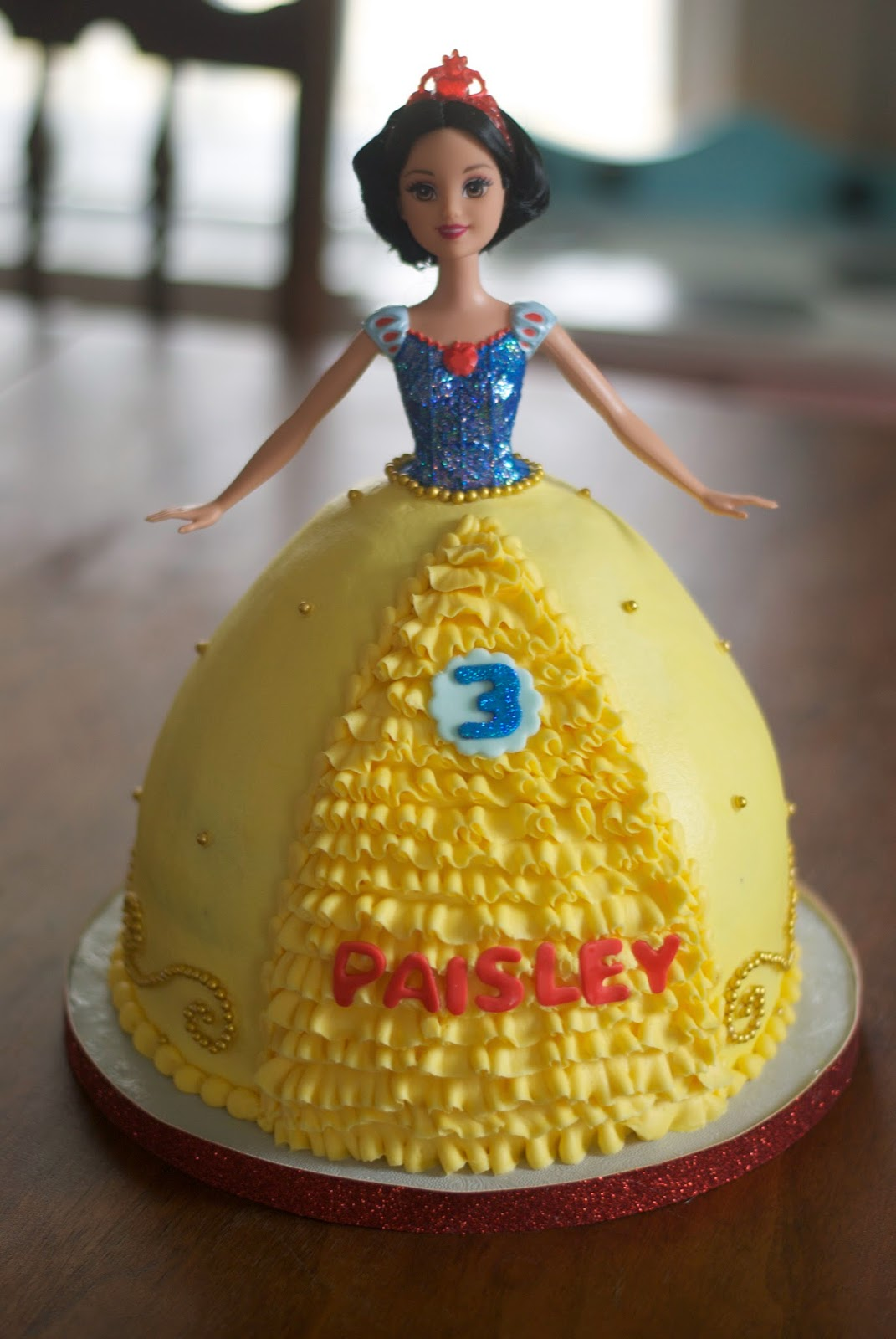 Doll Cake Images Download : Image Snow White Doll Cake Download