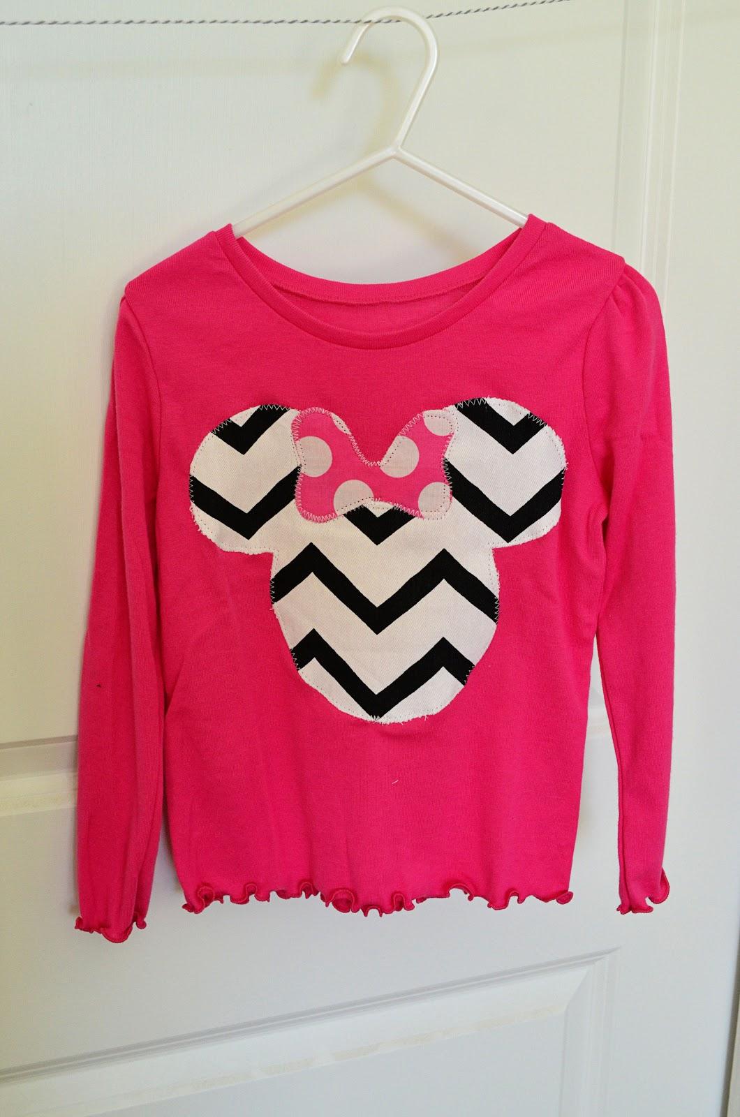 Random thoughts of a supermom diy disney shirts for girls for Diy disney shirt template