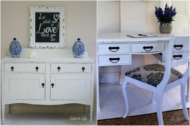 Lilyfield Life Painted Furniture white sideboard Sydney