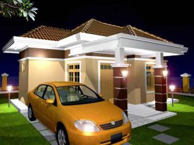 desain rumah tinggal minimalis 1