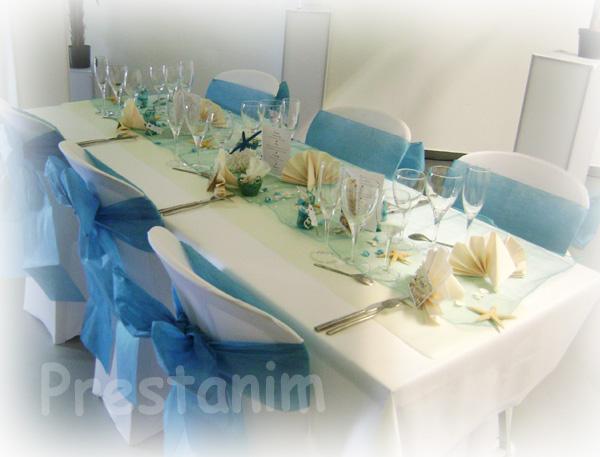Ma d coration de mariage d corations mariage sable et coquillages - Decoration mariage chic ...