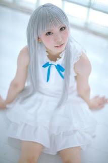 Ano Hana cosplay, Honma Meiko by Rinami