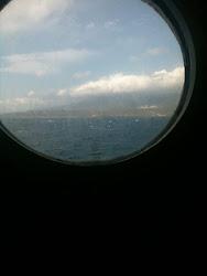 Estuve en el mar y miraba todo por ahí: