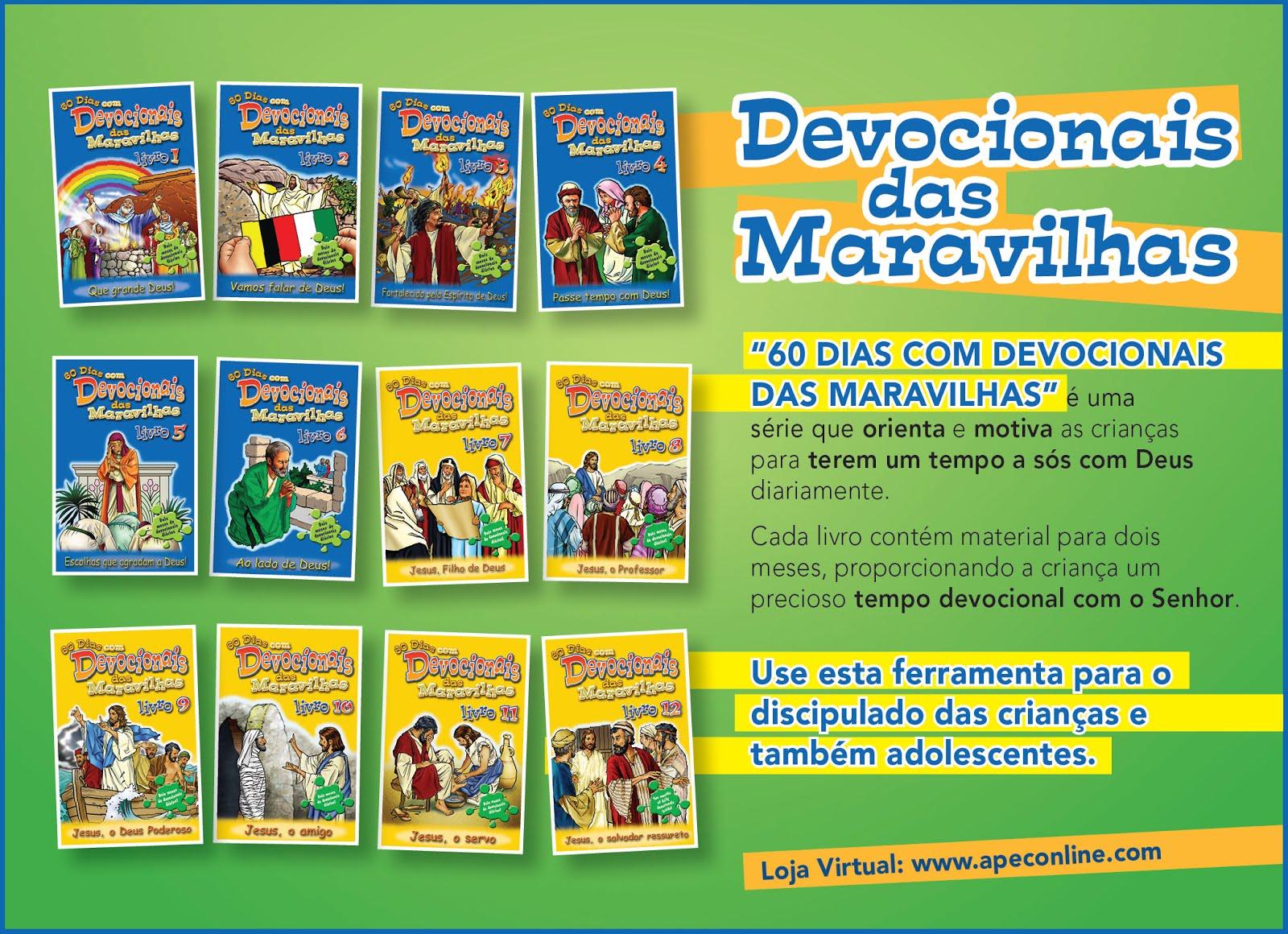 60 DIAS COM DEVOCIONAIS DAS MARAVILHAS