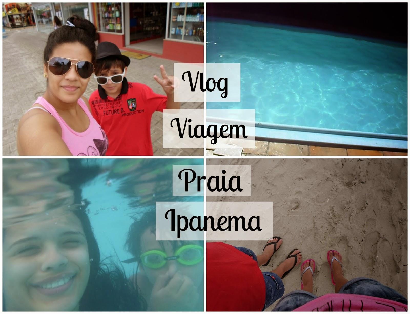 Blog beleza rosa vlog viagem praia ipanema mar for Vlog in piscina