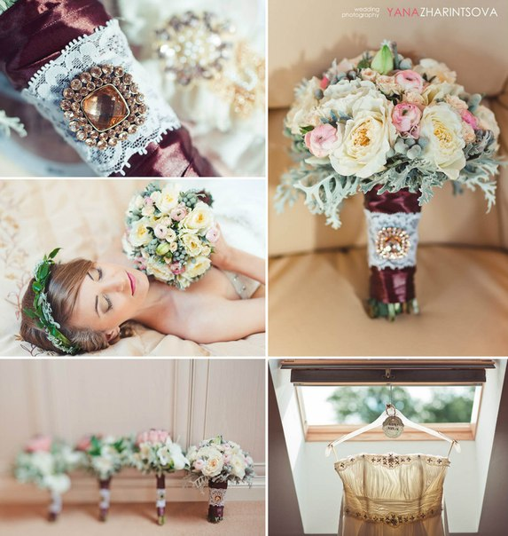 Vintage wedding decorations home decorating ideas for Wedding home decoration ideas