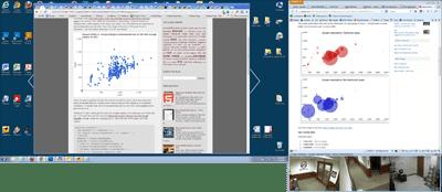 Screen shot of my desktop.