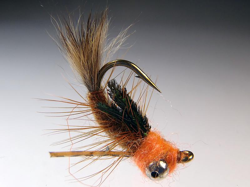 Egan's Headstand Carp Fly