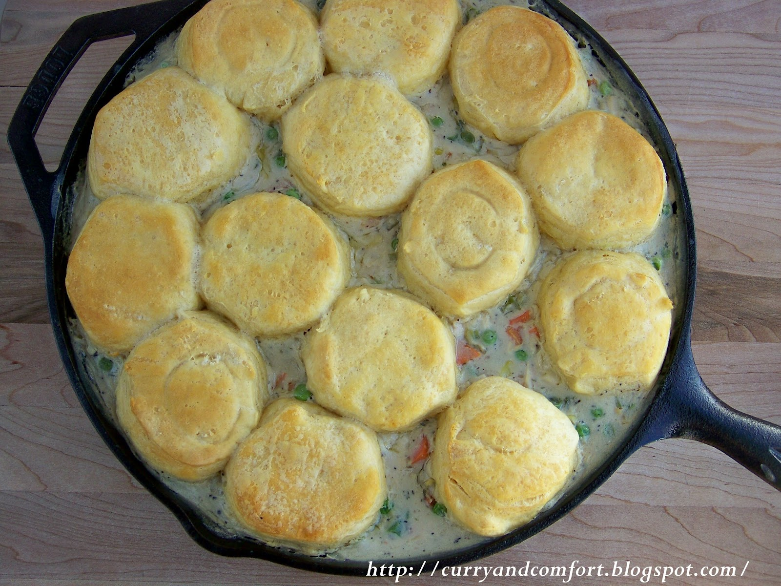 Kitchen simmer chicken a la king with biscuit toppers chicken a la king with biscuit toppers forumfinder Images