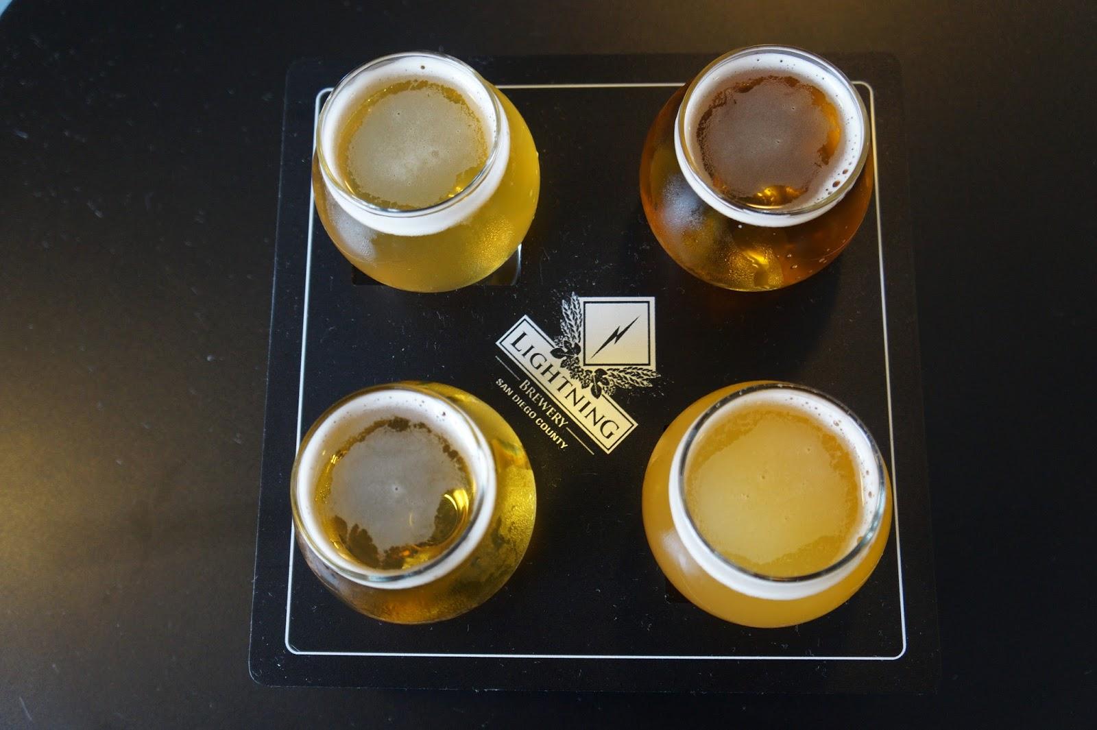 Lightning Brewery, Beer Tasters