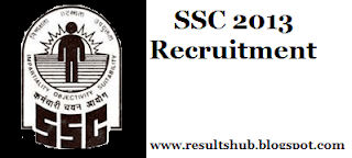 SSC Multitasking Admit Card/Call letter/Hall Ticket 2013 (NonTechnical) Staff MTS Exam  