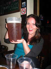 HUGE pitchers of beer for St Patty's Day