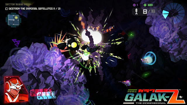Ya disponible Galak-Z, el shooter con influencias anime para PS4