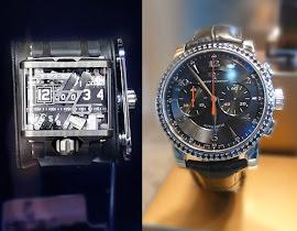 Wrist candy. Men's timepieces from Devon and David Yurman.
