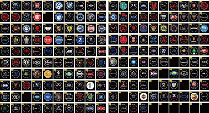 Auto Stuff LED Car D Logo Laser Lights Makes Your Car Cool - Cool car logos