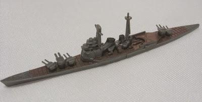 鳥海:洋上模型 連合艦隊コレクション 精鋭艦隊編