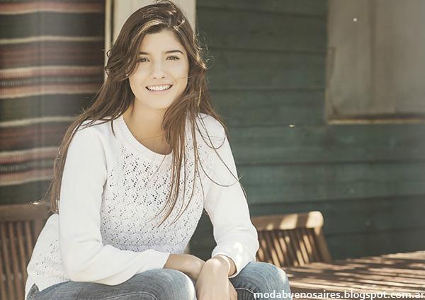 Moda 2015. Del Cerro Patagonia sweaters y prendas tejidas 2015.