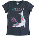 Yoga Unicorn Cobra Pose Exhale Women's T-Shirt