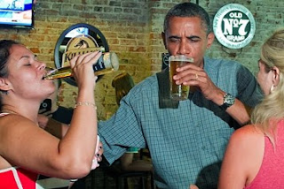 For Obama, hoppy days are here