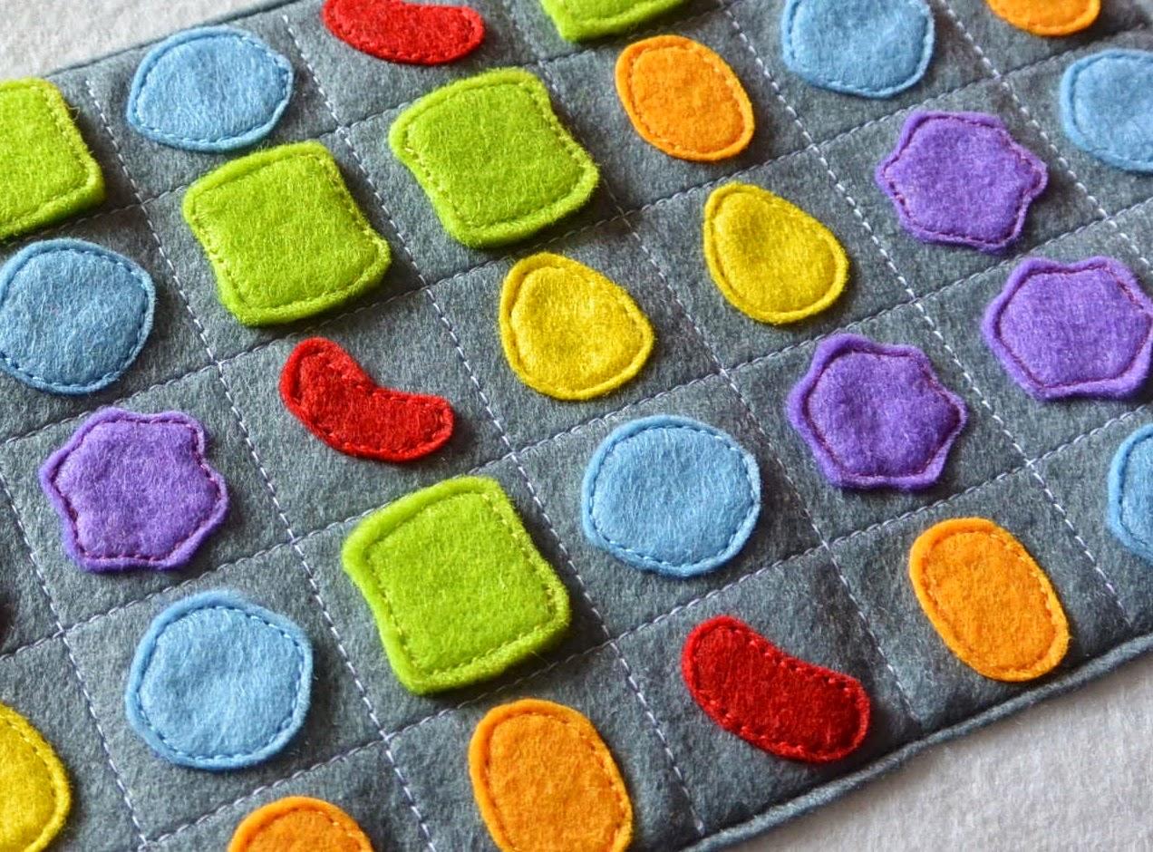 housse feutrine personnalisée candy crush pour iPad d'apple