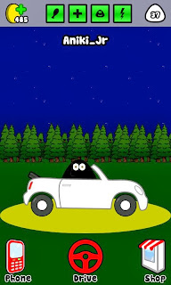 New update for Pou. New Car and hill drive
