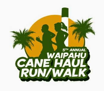 5th Annual Waipahu Cane Haul Run logo